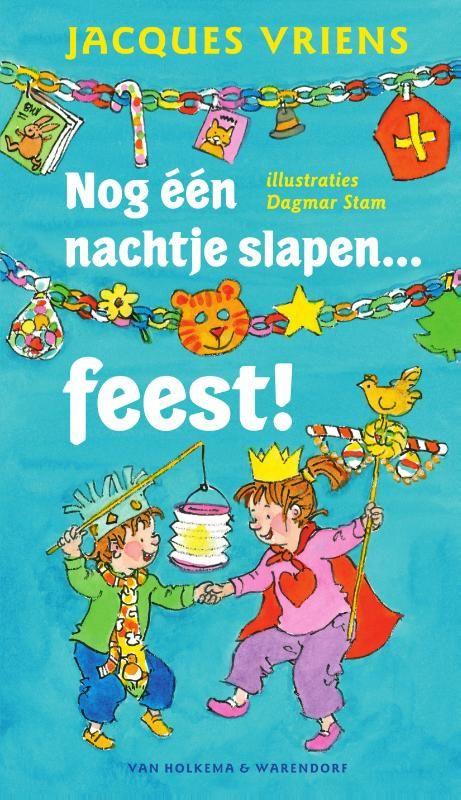Het hele jaar door zijn er feesten waar Wouter en zijn zusje Mieke naar uitkijken. In Nog één nachtje slapen… feest! vieren ze de meest bijzondere feesten van het jaar. Deze feestelijke bundel staat boordevol heerlijke voorleesverhalen over Dierendag, Kerstmis, Sinterklaas, Oudjaar, Moederdag, Pasen en nog veel meer.