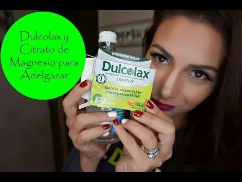 Dulcolax para Adeldazar / Citrato de Magnesio para Adelgazar / Abigail A...