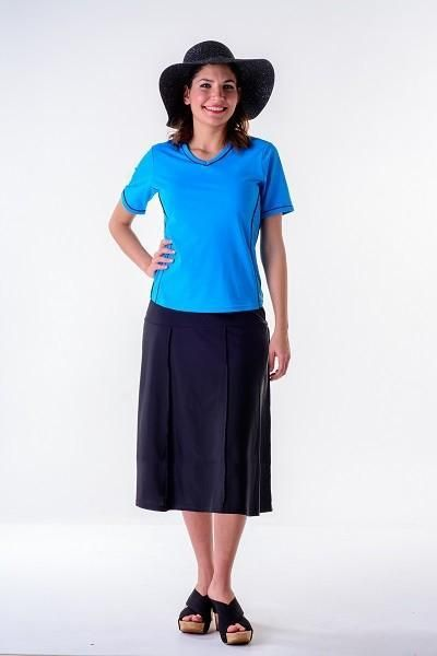 48a83add3929a Waters edge hip hiding drop waist long swim skirt (27