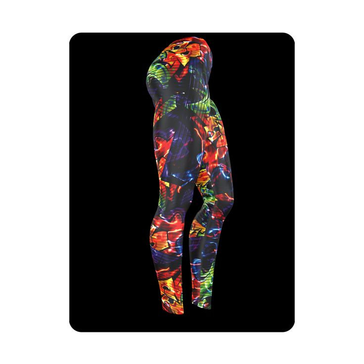 """From the exclusive Michel Robert Cabrié VS Bombsheller range, a collection  of leggings designed for Bombsheller in the US.  Design inspired by the artwork entitled """"Untitled #4"""", from the DARK STREET  ART collection.      * High grade 4-way stretch fabric     * Quick dry moisture-wicking and SPF 50+     * Fabric made in Italy by a Bluesign certified manufacturer     * Printed using dye sublimation techniques for lasting colour     * Each pair of leggings is individually printed…"""