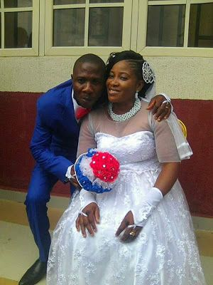 Physically Challenged Nigerian Lady Weds Her Man In Grand Style(PhotosVideo)