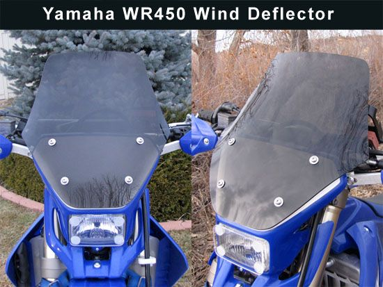 Cee Baileys - Yamaha WR250 and WR450 1999-Up Motorcycle Windshield
