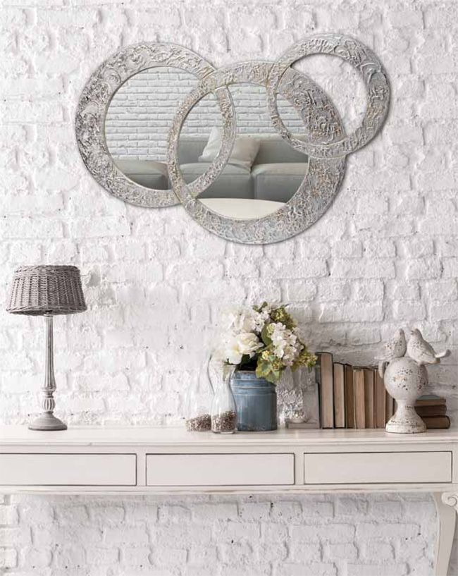 34 best espejos decorativos images on pinterest - Espejos grandes decorativos ...