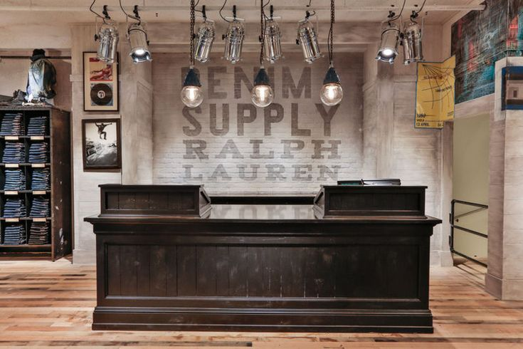 "DENIM SUPPLY-RALPH LAUREN, ""Please Pay Here"", pinned by Ton van der Veer"
