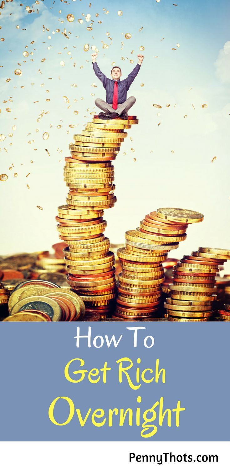 How To Get Rich Overnight. This post helped me to learn how to quickly increase my savings without much effort. Thanks for sharing!!