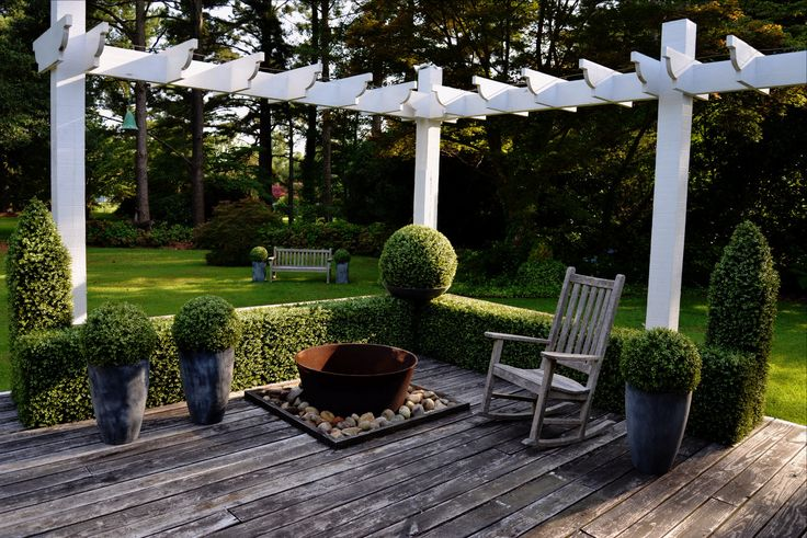 Our summer outdoor inspiration from New Growth Designs.   What's your plan? New landscape design? Putting in a fire pit? Or a pergola? Share your thoughts! We'd love to hear your ideas!