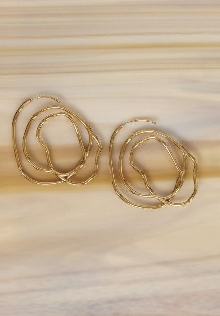 FORBIDDEN FRUIT COIL EARRINGS