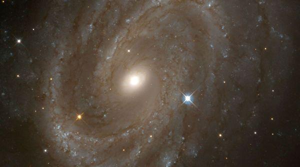 La galassia a spirale NGC 4603 è parte del Centaurus Cluster, uno dei più massicci assemblamenti di galassie (foto: SSPL/Getty Images)