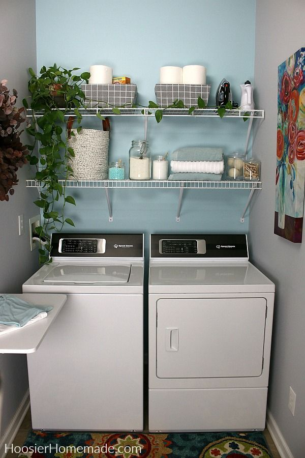 Small Laundry Room Ideas Decorating Ideas To Make Your Small