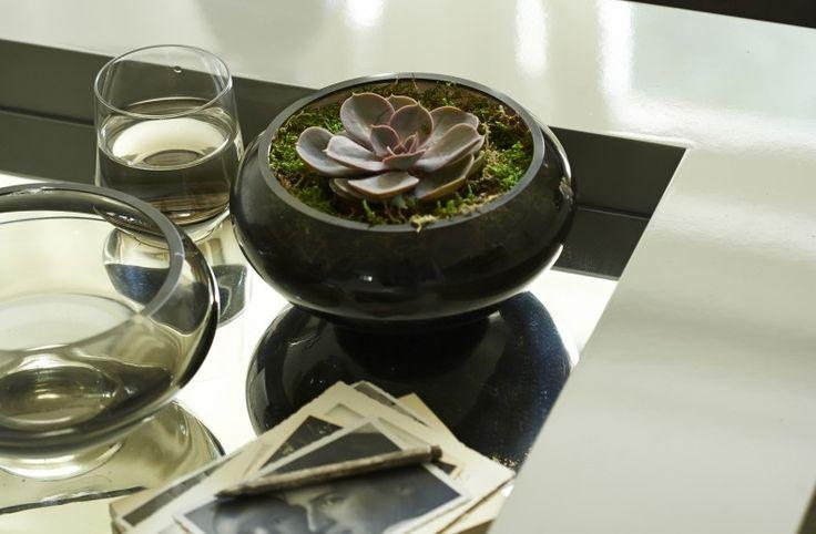 Lottie Grey Smoked Bowl