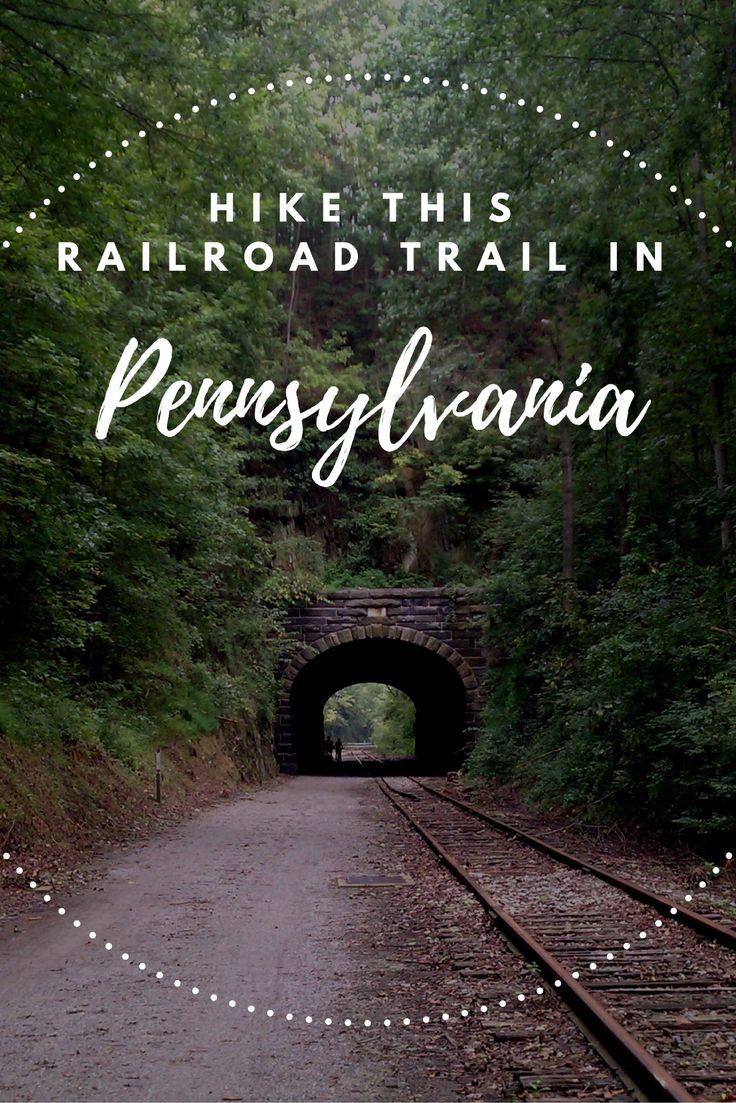 Travel | Pennsylvania | Railroad Trails | Hiking | Unique Hikes | Railway Trail | Rails To Trails