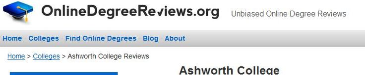ashworth reviews Ashworth college reviews,  ashworth college