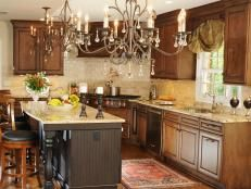French Country Kitchen Cabinets: Pictures, Options, Tips & Ideas | Kitchen Designs - Choose Kitchen Layouts & Remodeling Materials | HGTV
