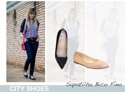 As sapatilhas de bico fino são modelos delicados, refinados e com personalidade, perfeitas para qualquer estação.