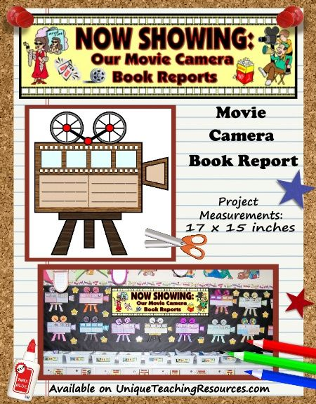 Creative Book Report Project Ideas