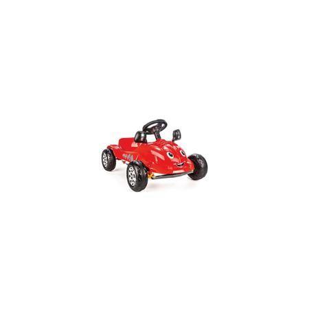 """Pilsan Педальная машина """"Herby"""", Pilsan  — 3999р. -------------- Педальная машинка Herby Pilsan (Пилсан)  Характеристики:  -Вес – 4.08 кг;  -Материал : высококачественный пластик; -Механический гудок; -Ширина: 53 см; -Длина: 73 см; -Высота: 42 см; -Максимальная нагрузка: 35 кг.  Педальная машинка Herby Pilsan (Пилсан) с приветливой улыбкой и большими добрыми глазами обрадует Вашего малыша. Педальный привод машинки дает ребенку необходимую физическую нагрузку, развивает координацию движений…"""