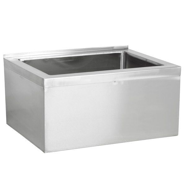 Regency 33 16 Gauge Stainless Steel One Compartment Floor Mop Sink 28 X 20 X 12 Bowl In 2020 Mop Sink Sink Basin Sink