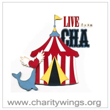 Live from CHA 2012 - your chance to attend the Craft and Hobby Association Trade Show online from the comfort of your home!
