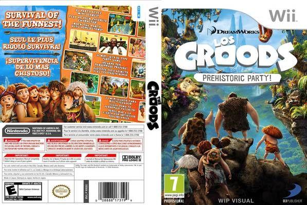 تحميل لعبة The Croods Prehistoric Party Wii Prehistoric Party Prehistoric Wii