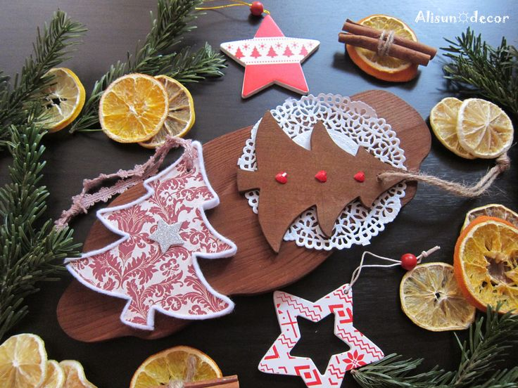 Serving board, Christmas tree toy
