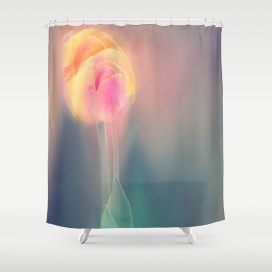 Spring in motion Shower Curtain