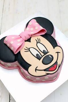 minnie mouse face cake - Google Search