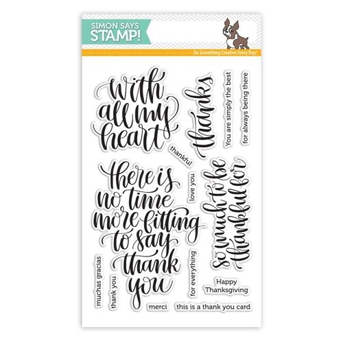 Simon Says Clear Stamps THANKFUL HEART SSS101684 Preview Image