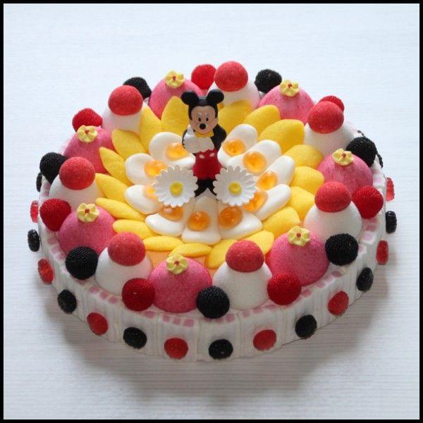 Gâteau de bonbons disney Mickey - Caramelys Lyon
