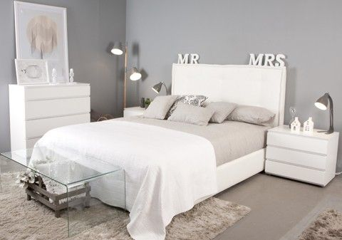 Soon cabecero tapizado casa for Ver dormitorios matrimonio