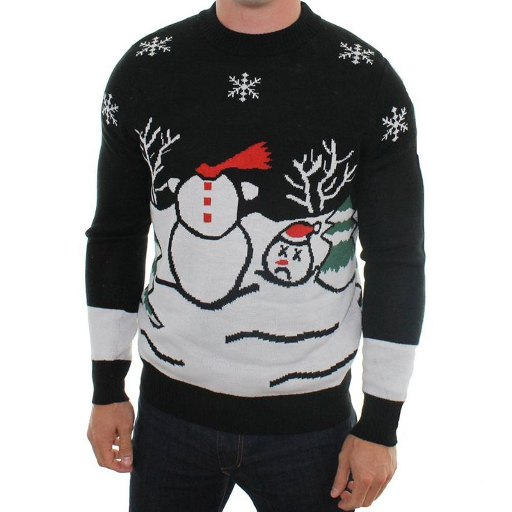 Ugly Christmas Sweaters - The Green Head