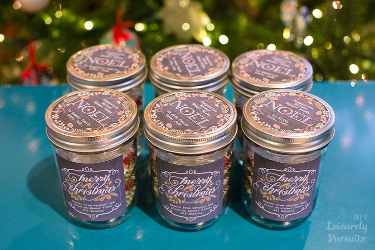 Homemade Congestion Relief Shower Disks for Christmas Gifts