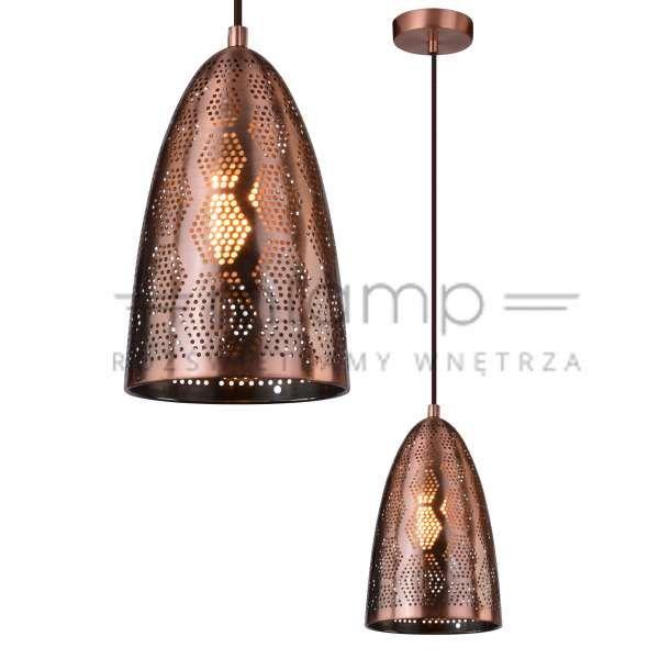 LAMPA wisząca SFINKS 31-43313 Candellux orientalna OPRAWA metalowa marokański ZWIS ażurowy IP20 miedziany #lampawiszaca #szklanelampy #wystrojwnetrz #nowoczesneoswietlenie #pokojdzienny #salon #modernlighting #modernstyle #crystal #interior #interiorlighting #interiordesign #homedesign #homedecor #rozswietlamywnetrza #mlamp