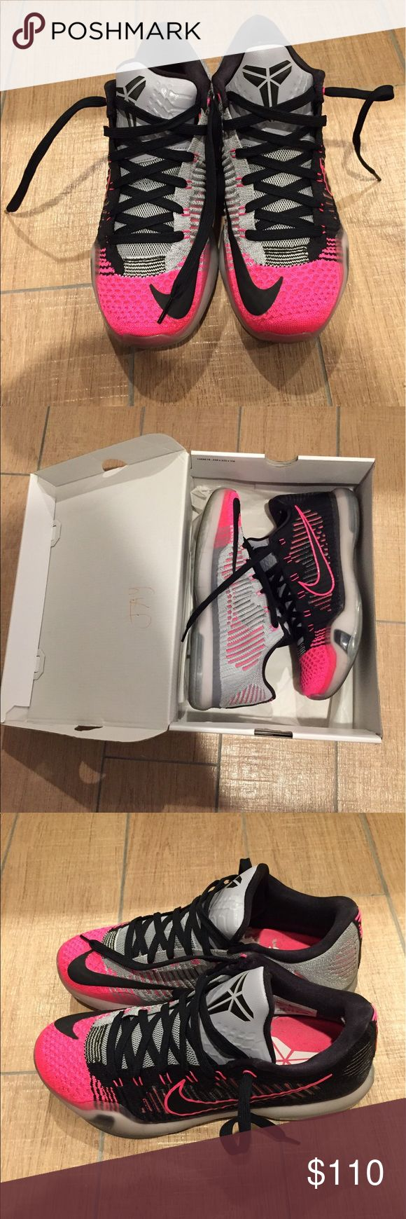 Nike Kobe Sneakers - Men's 8.5 Nike Kobe X Mambacurial sneakers with box. Men's 8.5 Nike Shoes Sneakers