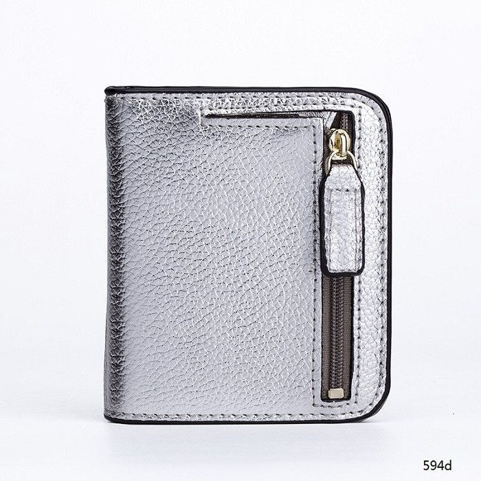 Miyahouse Genuine Leather Wallet Female Wallets With Zipper Coin Bag Leather Women Small Coin Purses Lady Cards Holder Wallet