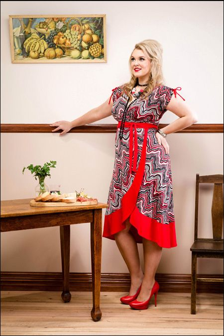 Sprinkle Emporium - Claudia wrap Dress Purchase: http://sprinkleemporium.bigcartel.com/product/claudia-wrap-dress