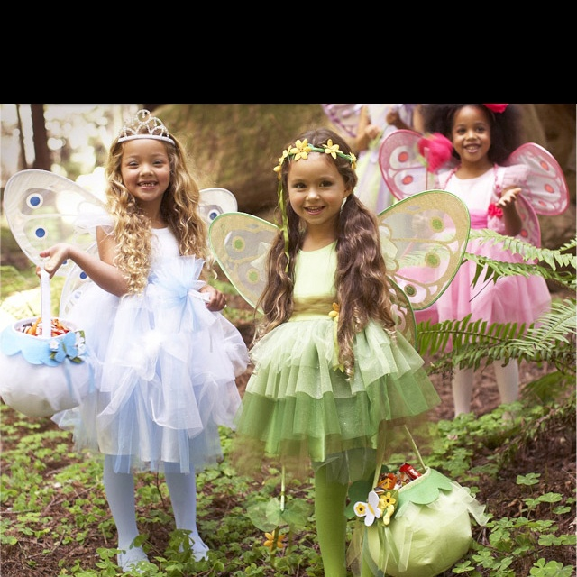 Woodland seasons fairy costumes from pottery barn kids