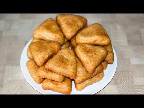 Жареные пирожки с картошкой - YouTube