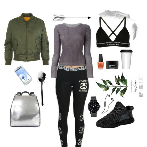 A fashion look from October 2015 featuring Prada sweaters, WearAll jackets and T By Alexander Wang bras. Browse and shop related looks.