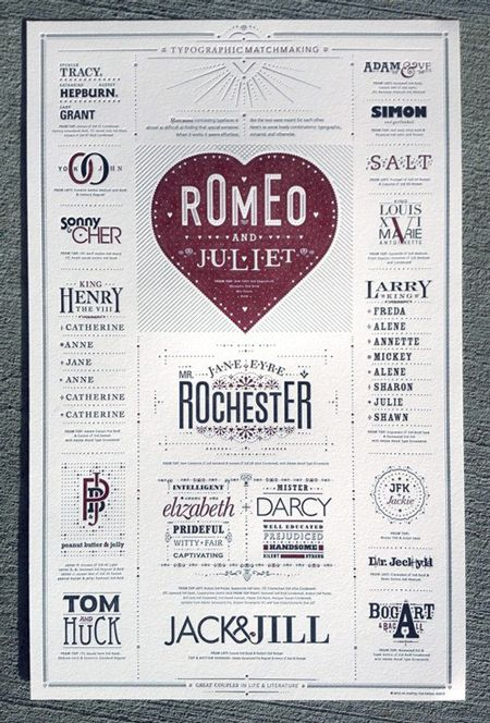 typographic, poster/ card