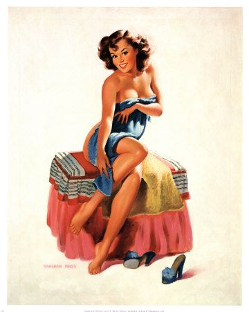50's Pin-up girls.: Alberto Vargas, Vintage Pin Up, Pin Up Art, Pinup Girls, Bath Beautiful, Pinup Art, Vintage Beautiful, Gil Elvgren, Pin Up Girls