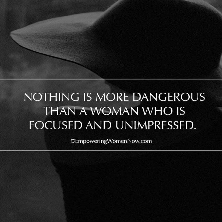 Nothing is more dangerous...
