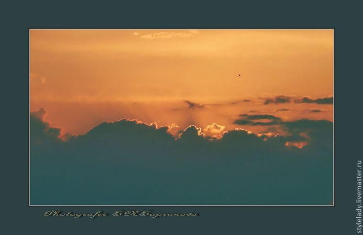 Купить ... Небеса Обетованные ...(АВТОРСКАЯ фотокартина для интерьера) - небо, небеса, небесный, авторская работа