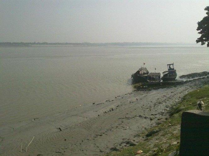 Shores of Ichchamati river at Taki