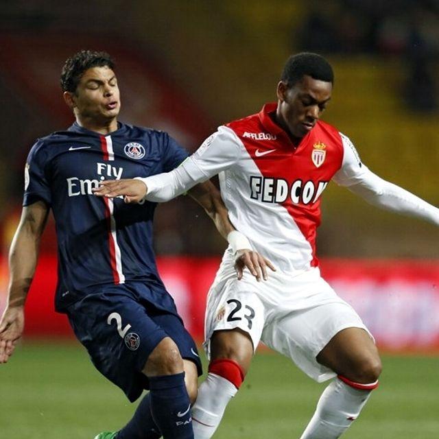#ThiagoSilva #PSG contro Anthony #Martial #Monaco