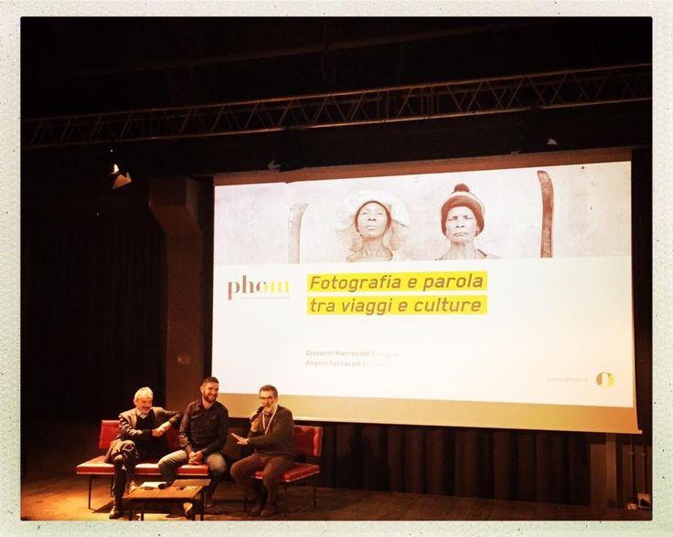 Terzo appuntamento della rassegna Incontri 2016 con Giovanni Marrozzini e Angelo Ferracuti sul rapporto fotografia e parola.