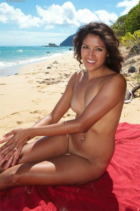 Vintage tropical island girls nude that