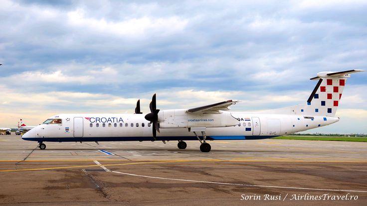 Croatia Airlines renunță la zborurile spre București în orarul de iarnă 2017-2018
