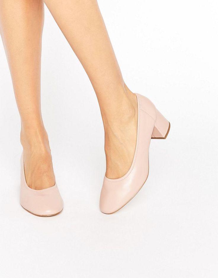 River Island Block Heel Glove Shoe