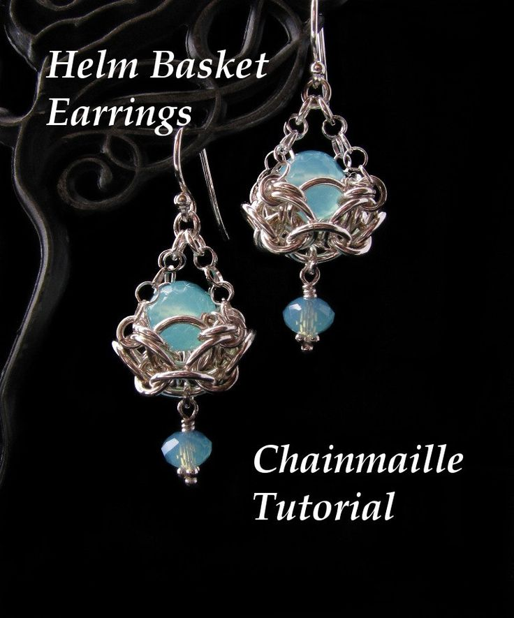 Basket Weave Chainmaille Tutorial : Best chain mail earrings images on