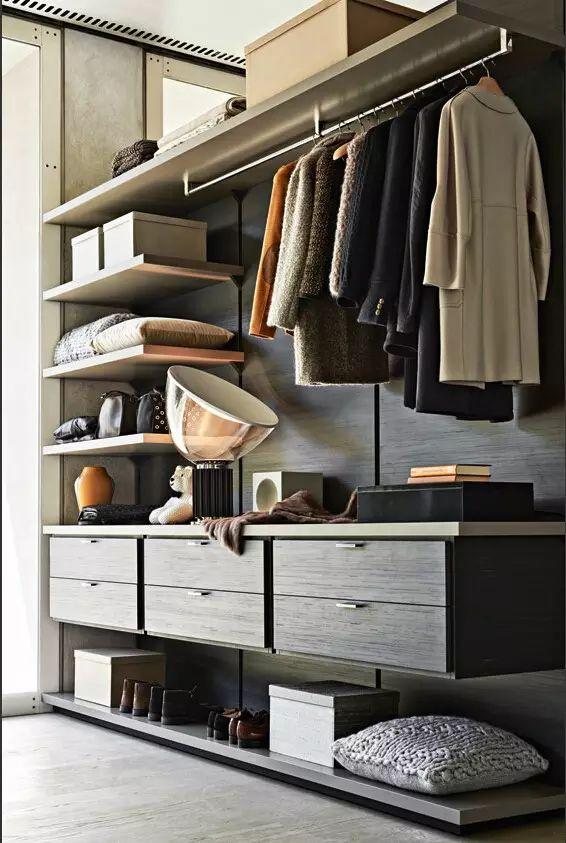 Visual arts | cloakroom wardrobe selection
